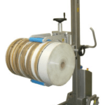 Lifting and Rotating Rolls of Film, foil and paper
