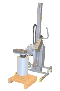 Fully Motorised Roll Handling with the Vertical Spindle Attachment