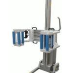 Clamp Attachment with Removable Inner Rollers & Manual Rotation