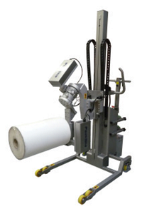 Roll Handling Equipment with Powered Drive
