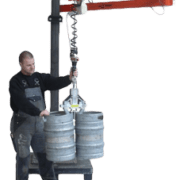 vacuum barrel lifting